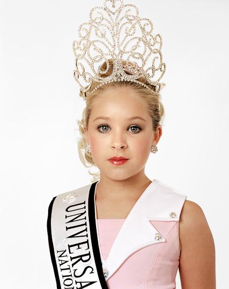 Zed Nelson Katie, 9 años. Ganadora. Universal Royalty Texas State Pageant. Texas, USA