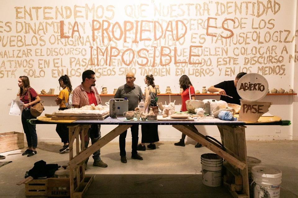 Artistas tucumanos en la Bienal de arte joven