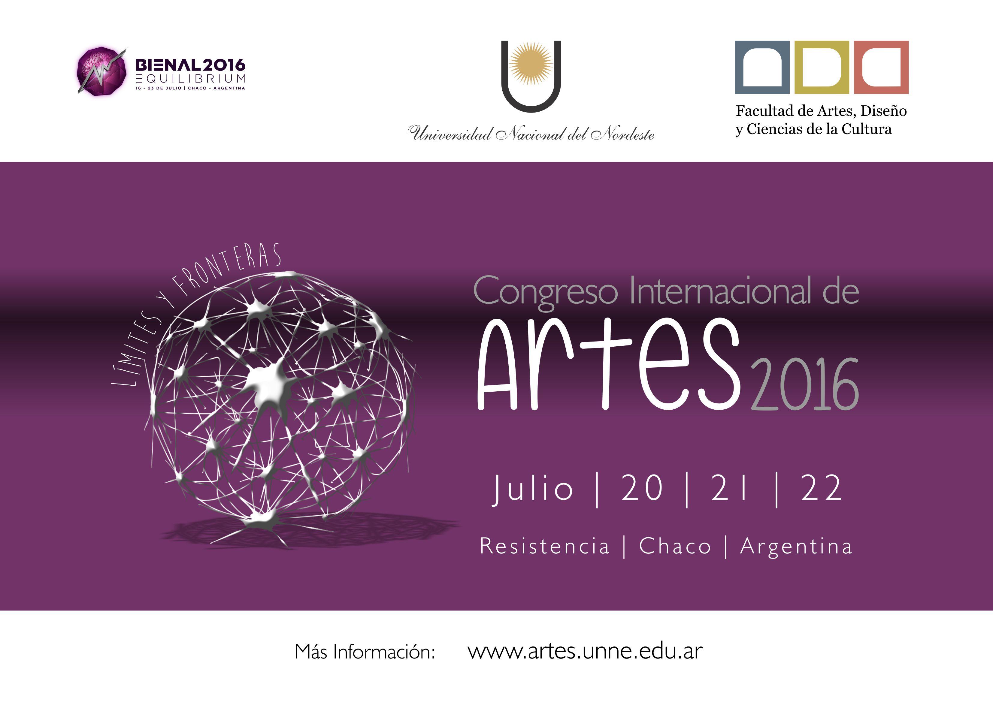 CHACO congreso_artes_2016_2