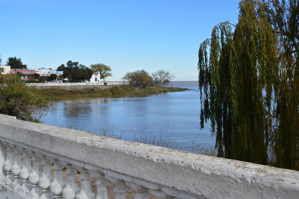 Un recodo del Río de la Plata en Colonia del Sacramento - Foto Carmen Silveira