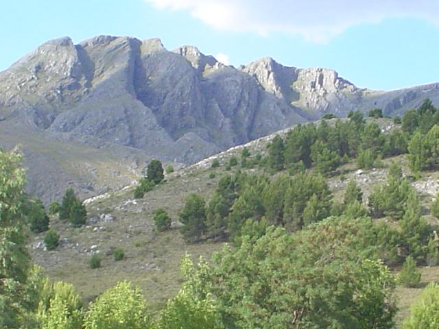 Vista del maciso del cerro Ventana desde El Mirador - Foto Carmen Silveira