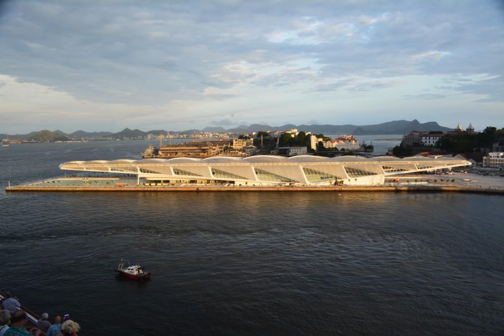 Rio de Janeiro: el nuevo  Museo del Mañana (Museu do Amanhã) , obra del arquitecto catalán Santiago Calatrava - Foto: Carmen Silveira