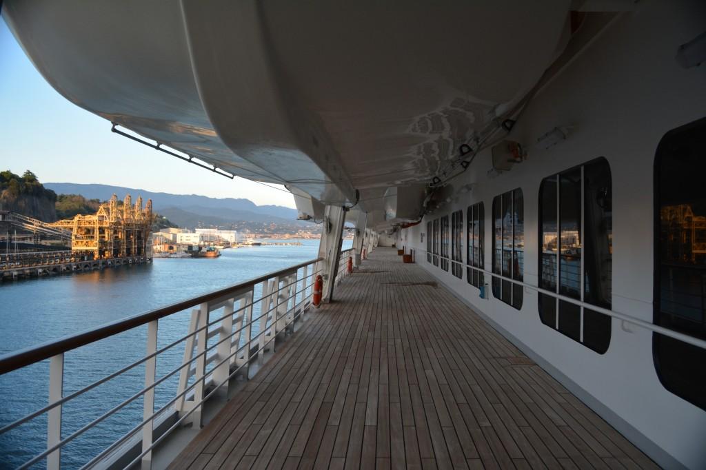 El Costa Pacifica amarrará en el puerto de Savona el 19 de marzo de 2017 a las 9 de la mañana - Foto: Carmen Silveira