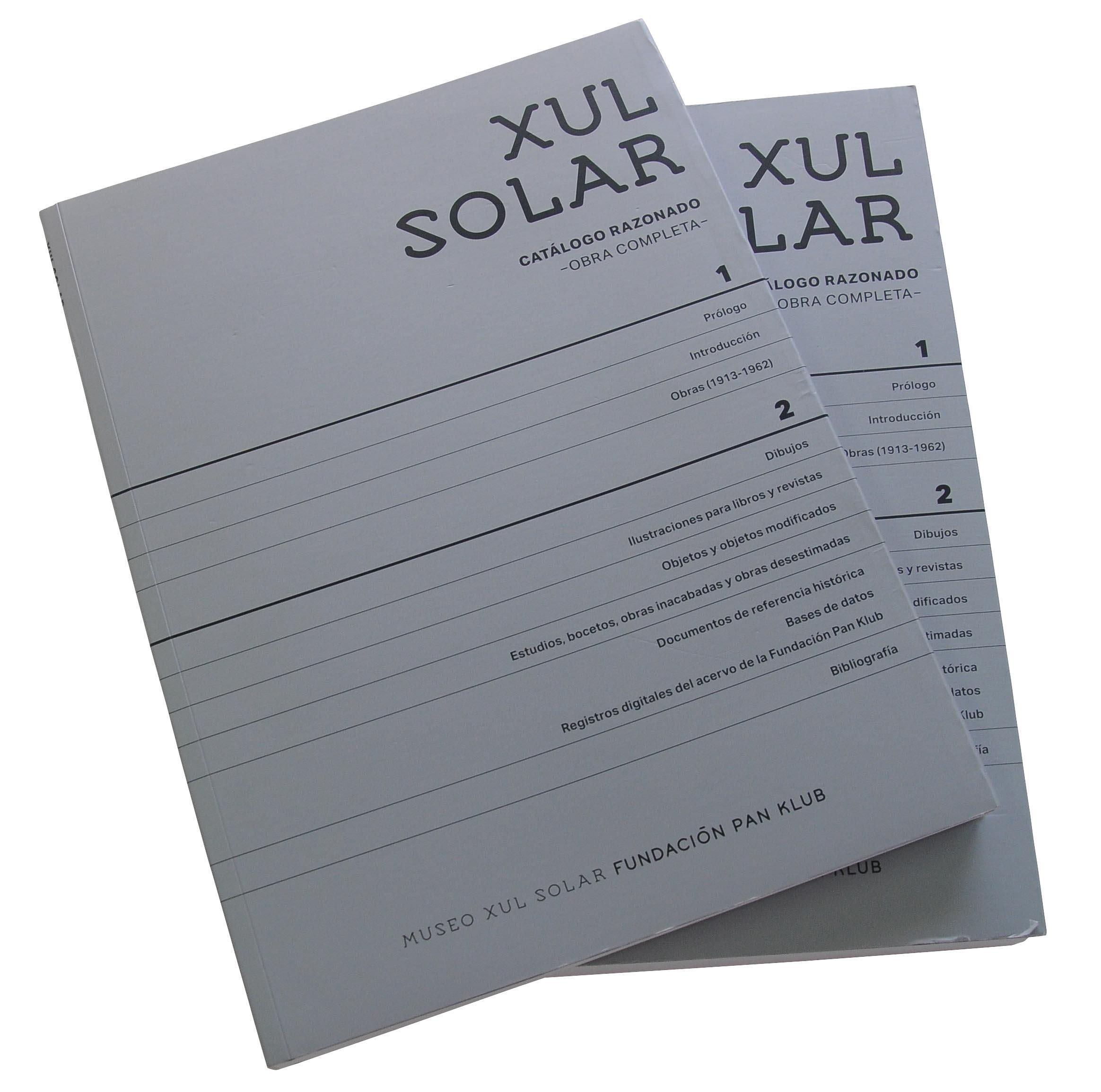 Foto. Catálogo razonado de Xul Solar