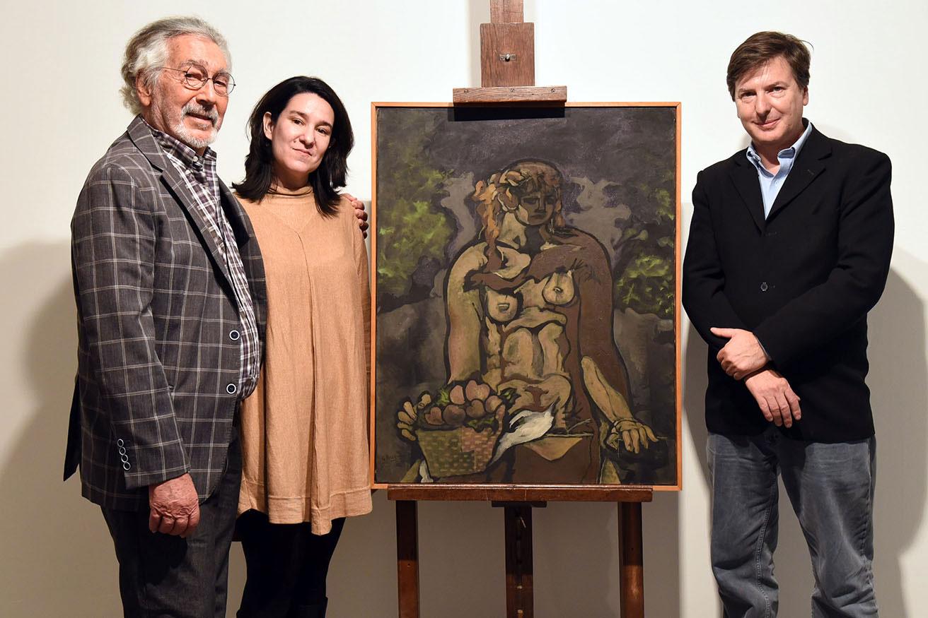 Resultado de imagen para El Bellas Artes incorporó a su colección una obra de Georges Braque