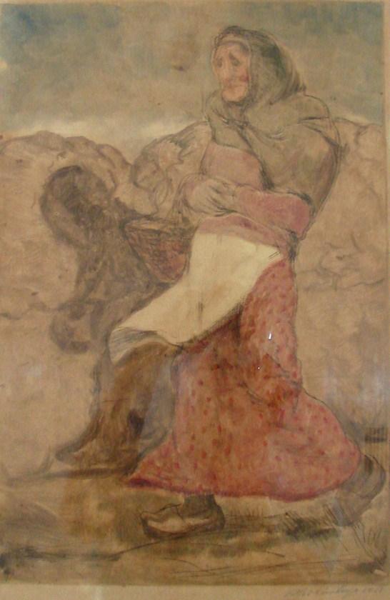 Lino Spilimbergo Monocopia Firmada y Fechada 1918