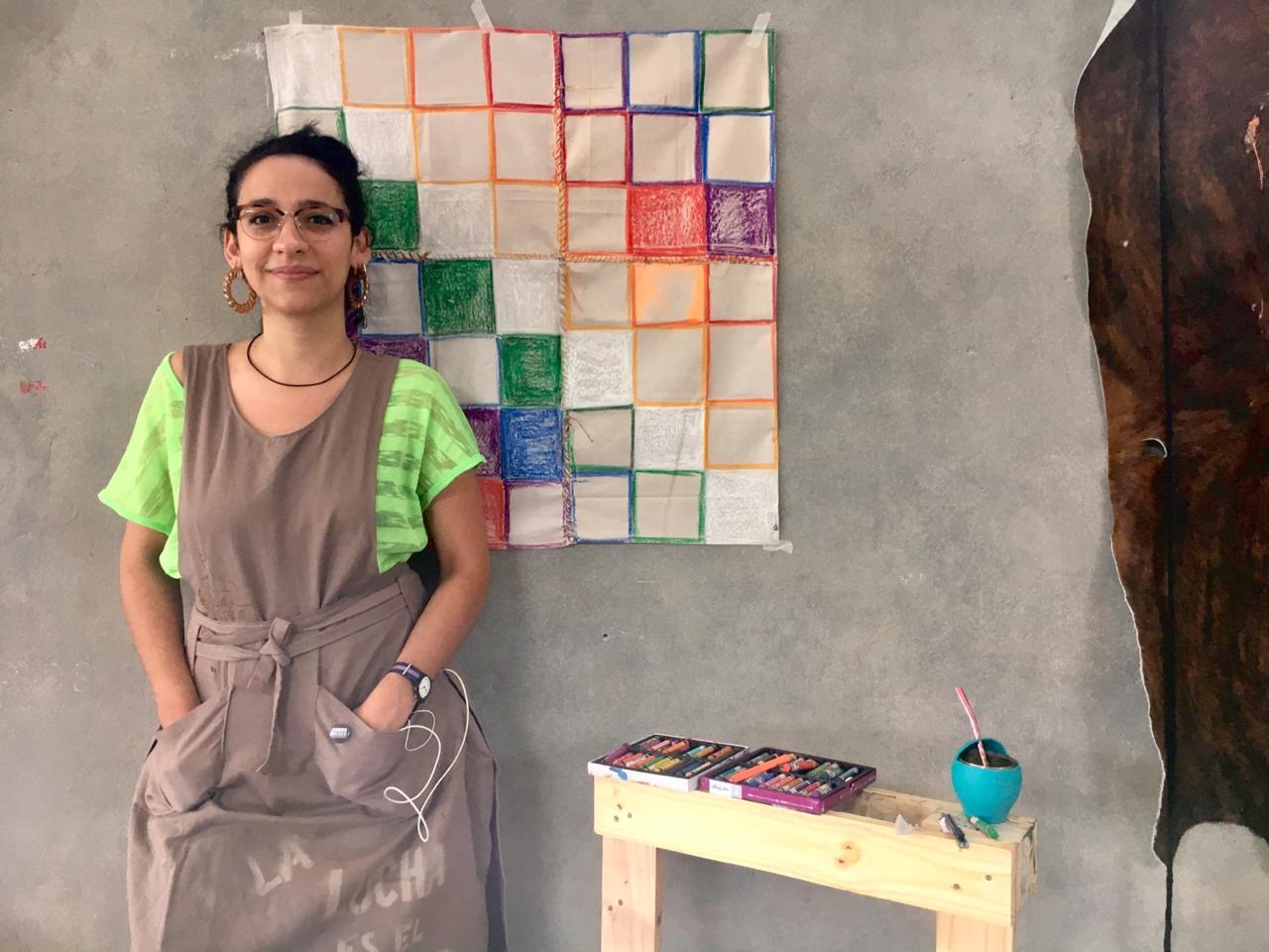 Lucrecia Lionti en Residencia Chela