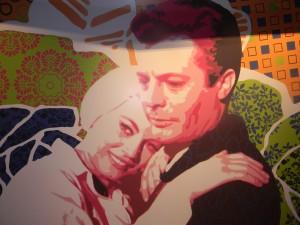 A lo largo del Costa Fascinosa grandes paneles recuerdan a dos grandes intérpretes favoritos de Federico Fellini: Anita Ekberg y Marcello Mastroianni -Foto Carmen Silveira