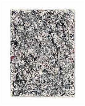 Christie's 15 MAYO 2013, NUEVA YORK 2785 58.363.750,00 USD POLLOCK, Jackson. 1912-1956. NUMBER 19, 1948. Óleo y esmalte s/ papel montado s/ lienzo. Firmado y fechado 1948. 78.4 x 57.4 cm.