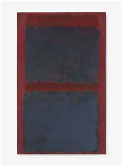 Christie's 15 MAYO 2013, NUEVA YORK 2785 27.003.750,00 USD ROTHKO, Mark. 1903-1970. UNTITLED (BLACK ON MAROON) Óleo s/ lienzo. Firmado y fechado 1958. 182.8 x 114.3 cm.