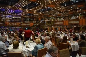 "El Restaurante ""Gattopardo"" evoca la homónima película de Luchino Visconti - Foto Carmen Silveira"