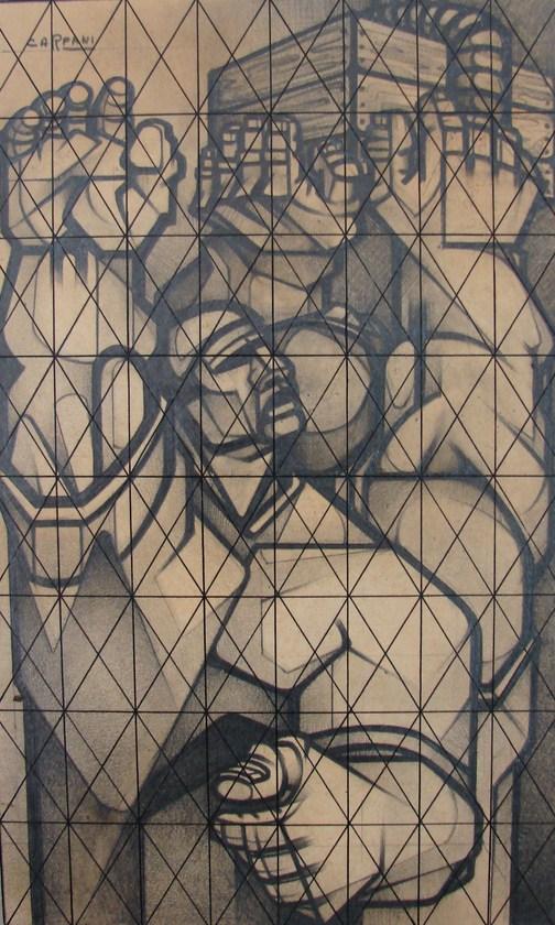 Ricardo Carpani Boceto para Desocupados Firmado.jpg