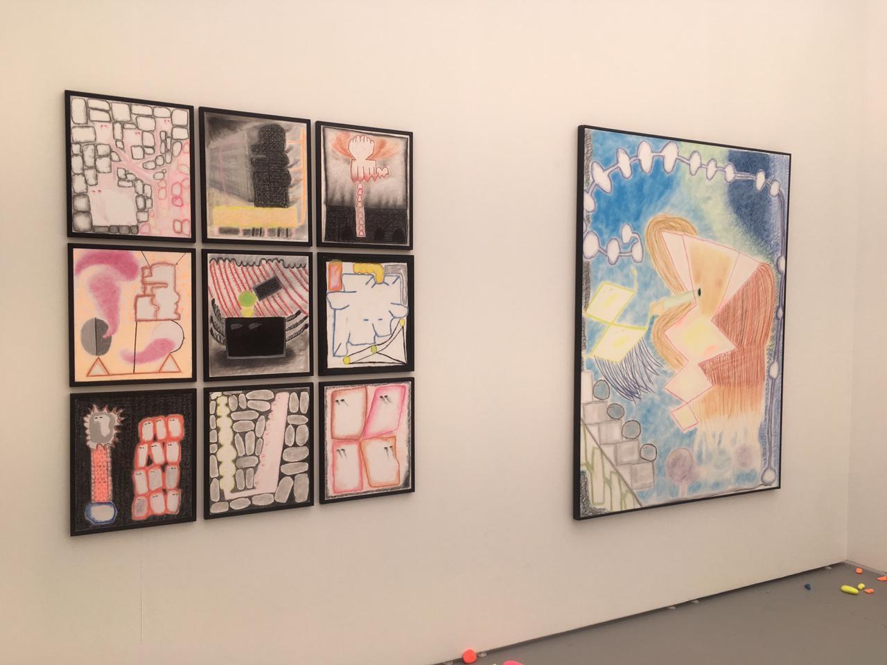 Valeria Maggi en Untitle Art con Mite Galeria