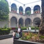 Patio interior de San Juan Bautista -  Foto Carmen Silveira