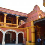 Patio interior de Casa Alvarado (detalle) -  Foto Carmen Silveira