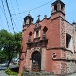 La Capilla da San Antonio Panzacola en el límite de Coyoacán -  Foto Carmen Silveira