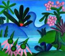 Tarsila Do Amaral - O lago (1928).
