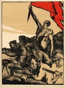 Los artistas del pueblo 1920 1930 arsomnibus - Baneras de obra ...