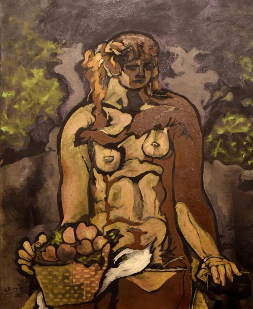 """""""Un-assis-à-la-corbeille-de-pommes"""",-fechada-en-1925"""