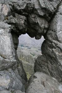 El hueco del Cerro Ventana, ícono de la Comarca - Foto gentileza Municipalidad de Tornquist