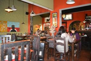 El restaurante Anjo Preto (Ángel Negro) uno de tantos reductos típicos de Colonia - Foto Carmen Silveira