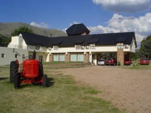 El Mirador: vista parcial del hotel - Foto Carmen Silveira