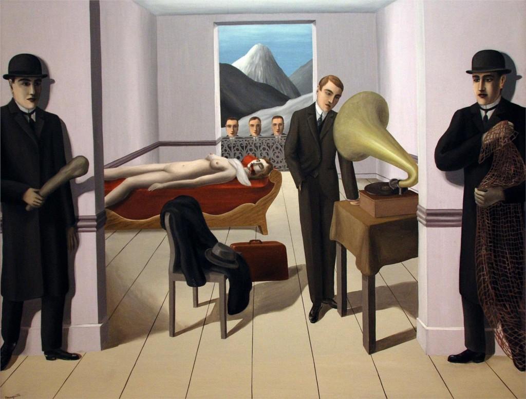 Magritte - 1927 - El asesino amenazado