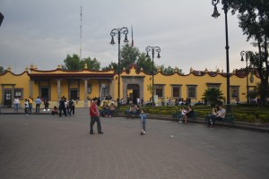 El cuartel general de Hernán Cortés, hoy es el Ayuntamiento de Coyoacán -  Foto Carmen Silveira