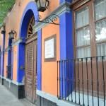 Dominan en Coyoacán tonos rosados y el inconfundible azul cerúleo -  Foto Carmen Silveira