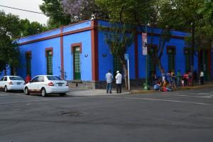 La esquina de la Casa Azul - Foto Carmen Silveira