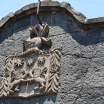 Símbolos heráldicos de España aparecen en varias fachadas -  Foto Carmen Silveira